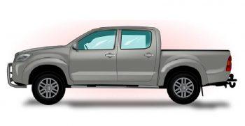 Ford Ranger Nissan Navara competencia entre pickups